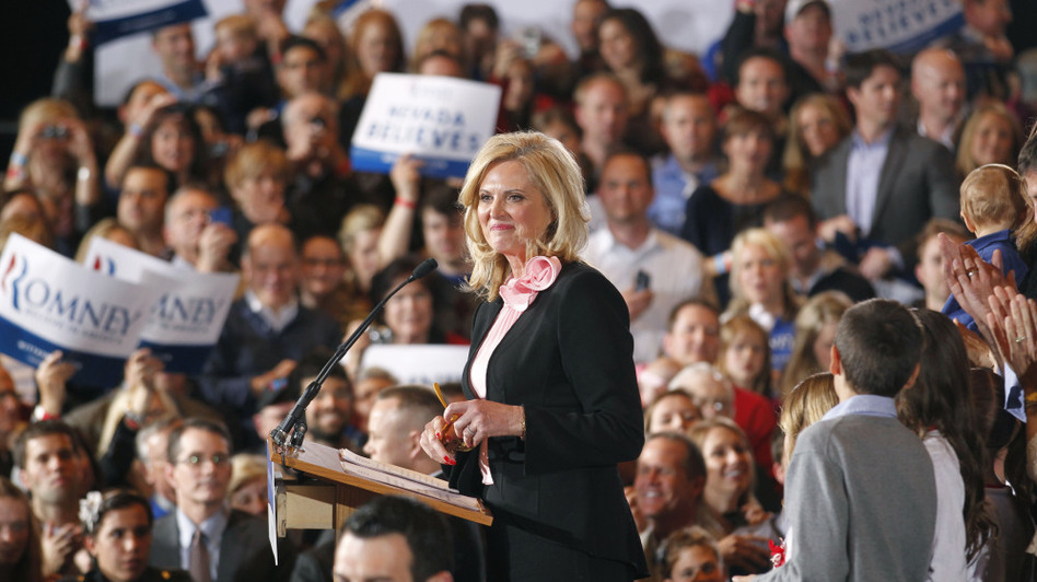 Ann Romney Takes Center Stage In Tug Of War For Female Voters Wbur