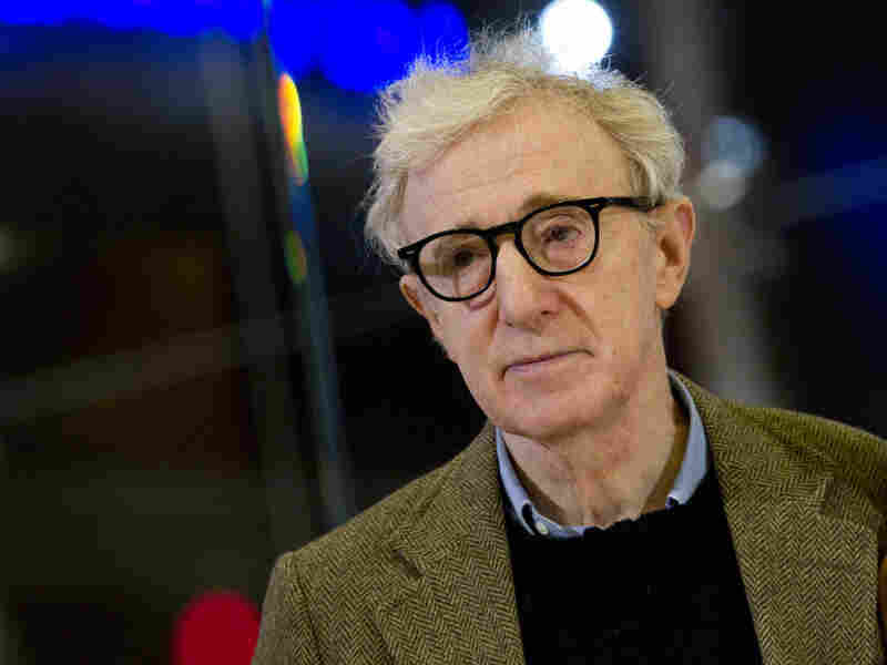 Woody Allen at the Italian-language premiere of To Rome With Love, in Rome, April 13.