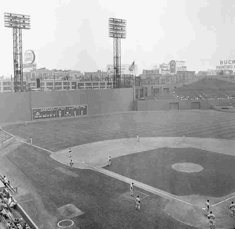 A view of Fenway Park on July 5, 1961.
