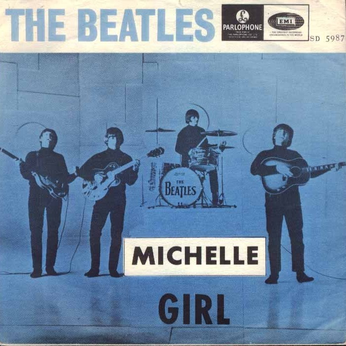 "The Beatles' ""Michelle"" won the Grammy for Song of the Year in 1967."