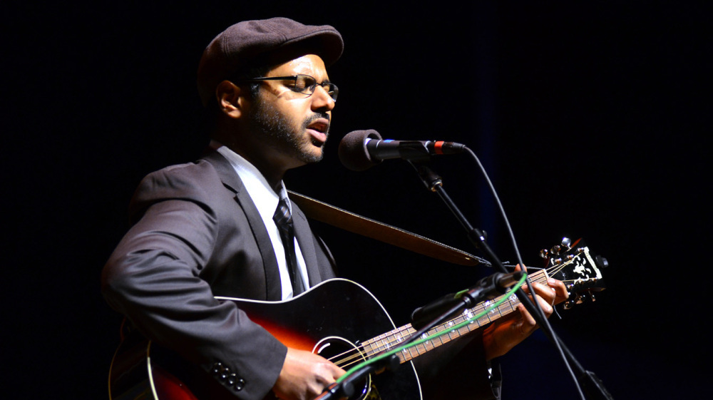 Bhi Bhiman On Mountain Stage : NPR