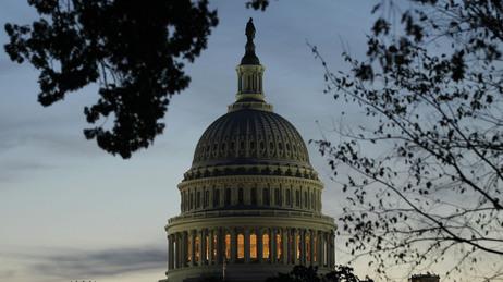 U.S. Capitol dome.