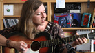 Jolie Holland performs a Tiny Desk Concert on September 15, 2011.