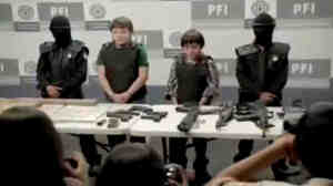 "Children portray drug lords, corrupt police officers and human traffickers in ""Niños Incómodos,"" which was viewed more than 1.8 million times in one week on YouTube."