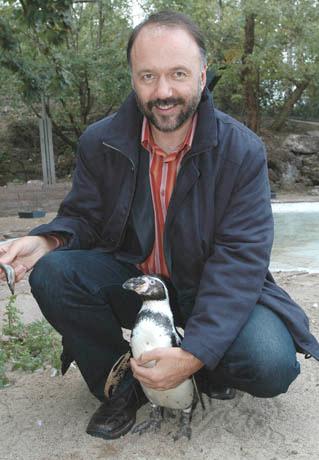 Andrey Kurkov is a Ukranian novelist who writes in Russian.
