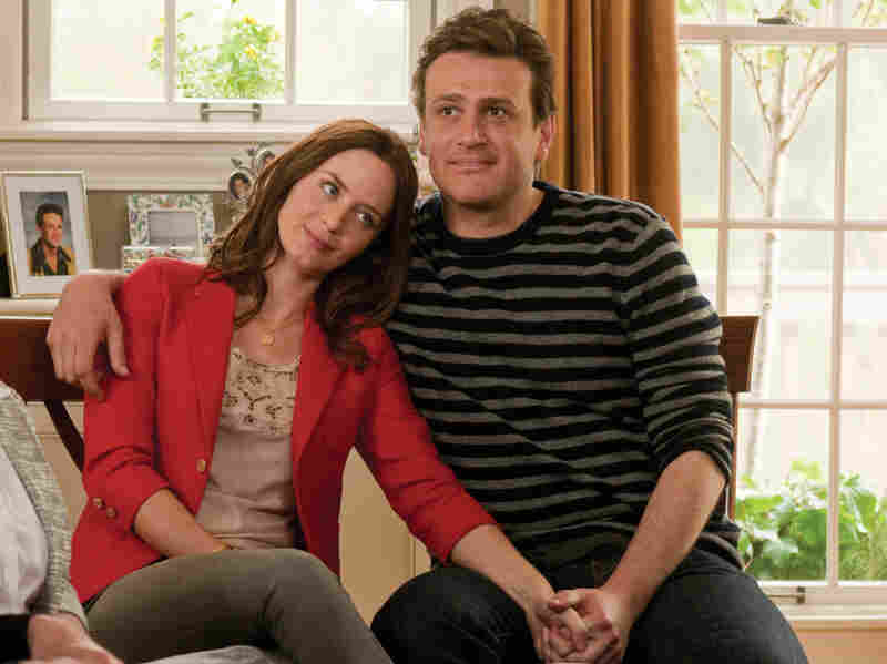 In The Five-Year Engagement, which Jason Segel co-wrote, he plays Tom, the devoted fiance to Violet (Emily Blunt), who agrees to postpone the wedding day as life continues to throw obstacles their way.