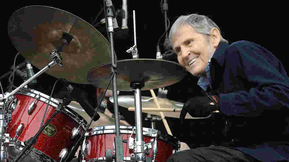 Levon Helm performs at the Outside Lands Music Festival in San Francisco in 2010.