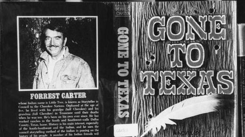 Forrest Carter's Western adventure novel <em>Gone to Texas</em> tells the fictional story of Josey Wales, an outlaw-to-be who loses his family and goes on to become the most wanted man in Texas.