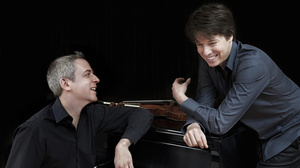 """I've thought to myself often listening to some classical works: 'I think I want to make a couple million dollars and turn that into a pop song,'"" Joshua Bell (right) says, laughing. ""There's a lot of untapped potential there."""