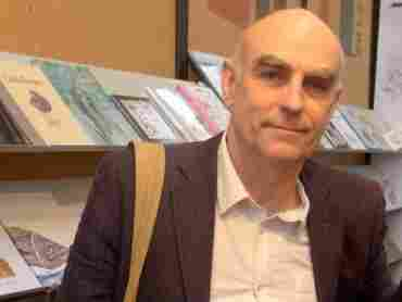 Author Martin Salisbury says his favorite picture book is The Tiger Who Came to Tea, by Judith Kerr.
