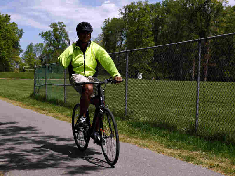Michael Owens lost an arm and shattered both legs during his second deployment to Iraq in 2005. This week, he participated in his third Soldier Ride.