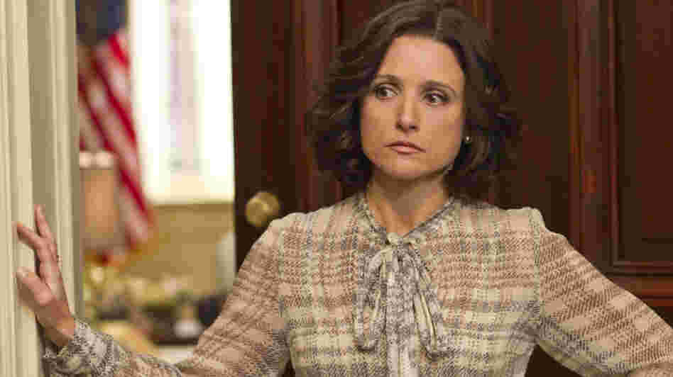 Julia Louis-Dreyfus plays the frustrated vice president in the new HBO comedy, Veep.