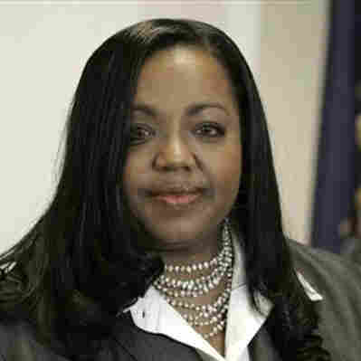 Wayne County prosecutor Kym Worthy (AP Photo/Carlos Osorio)