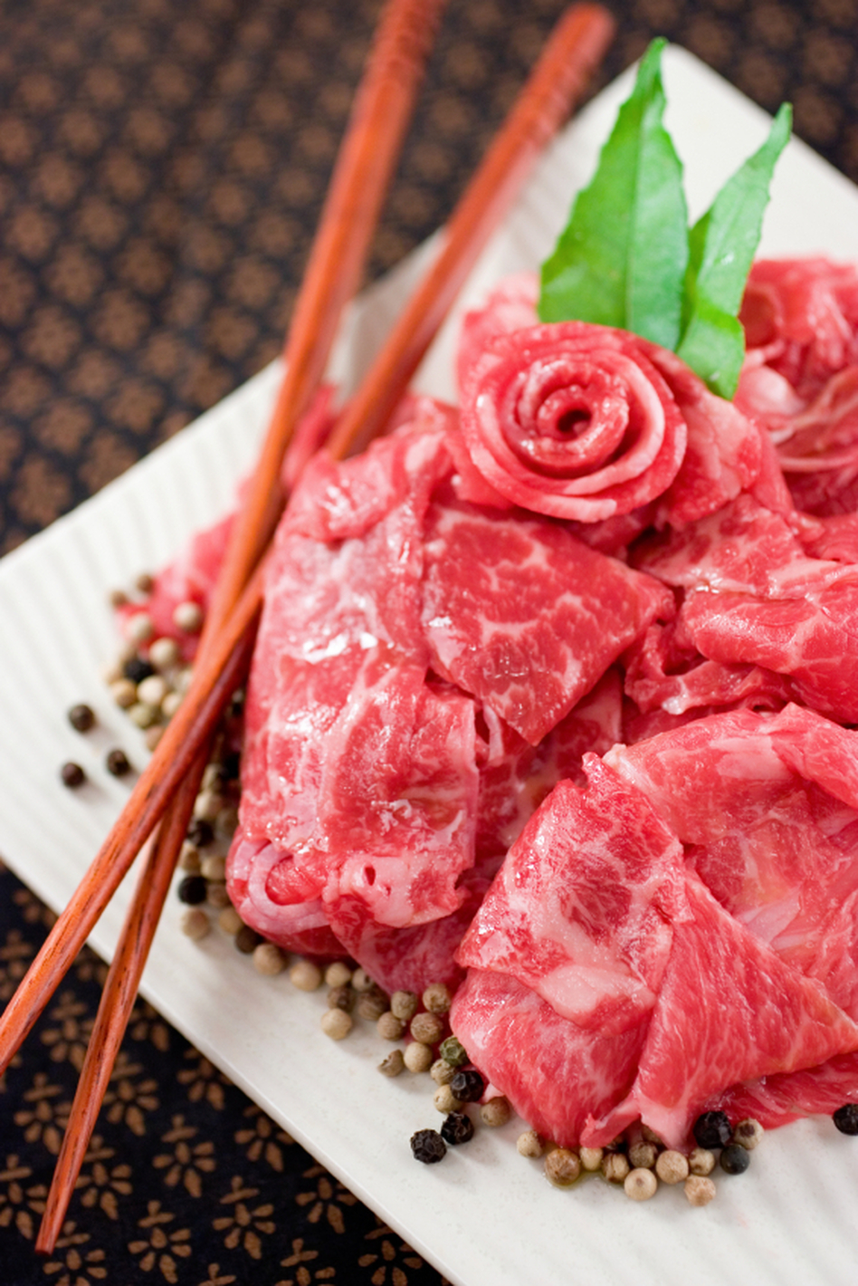 Is that real Kobe beef? If you're eating it in the United States, then it's not. (Kelly Cline/iStockphoto.com)