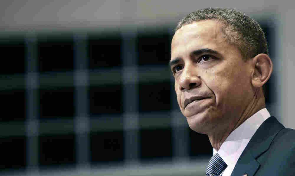 U.S. President Barack Obama speaks at the Holocaust Museum in Washington, DC.