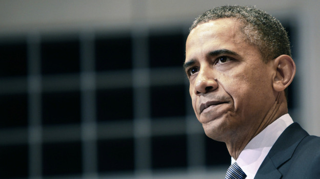 U.S. President Barack Obama speaks at the Holocaust Museum in Washington, DC. (Getty Images)