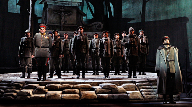 Kevin Puts' Pulitzer-winning opera recounts a spontaneous cease-fire among Scottish, French and German troups during World War I. (Minnesota Opera)