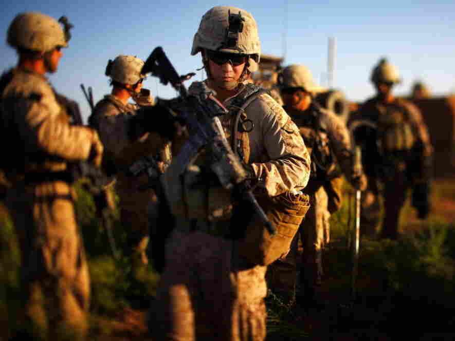 U.S. Marines in southern Afghanistan last June.