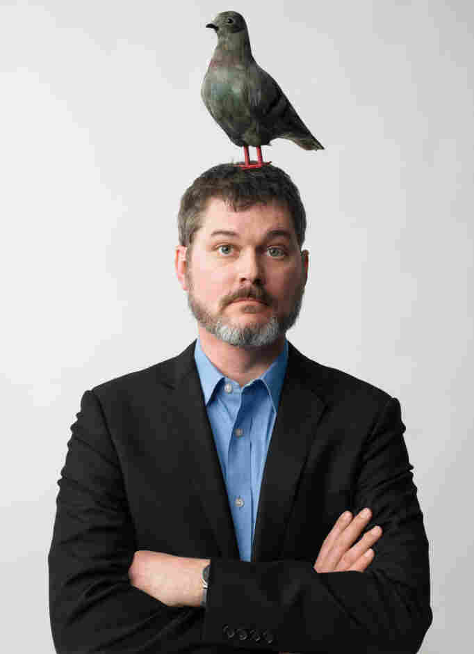 Author Mo Willems says the character of Pigeon first appeared in the margins of other projects, and demanded to be written about.