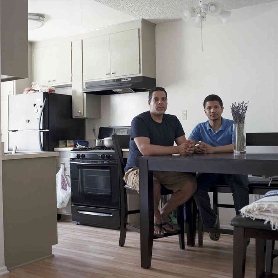 Philippe Gagnon and Saul Cruz, Los Angeles, Calif.Met at Hampshire CollegeYears known: Philippe 20-25, Saul 0-5
