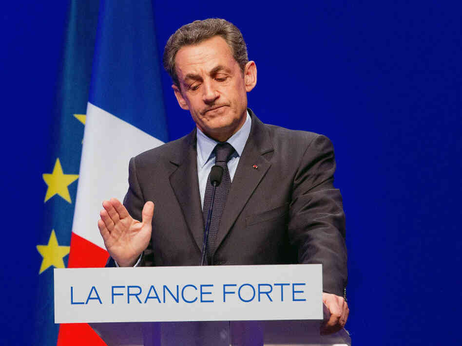 French President Nicolas Sarkozy after Sunday's vote.