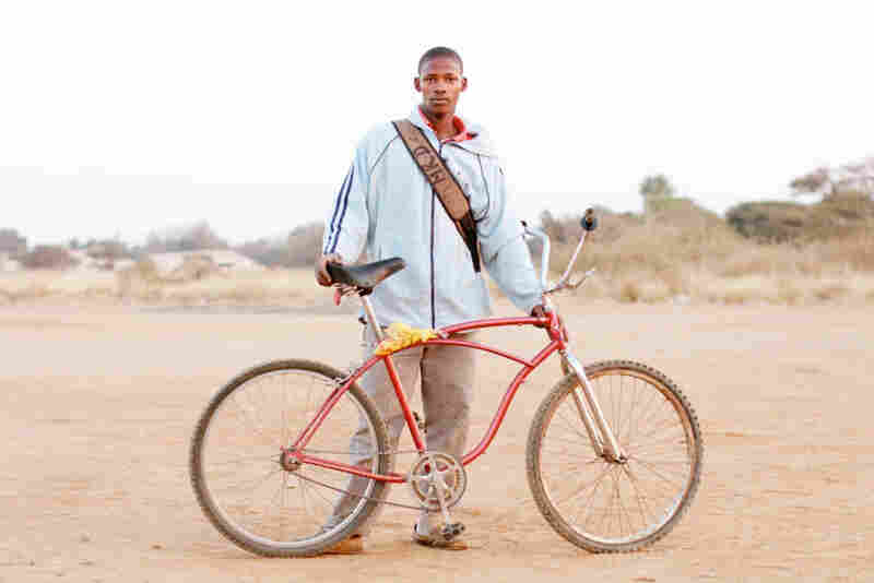 "Dirkie Maduo: ""I ride to get to work and all that, maybe to the farms — always just to keep busy. ... The bicycle helps me to make money. I really need money."""
