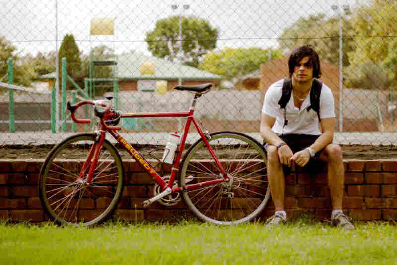 "Ryden Allmark: ""I have a car, but if I can use the bike, I use the bike. It was my dad's. ... I think he has had it about as long as he's had me; I'm 21. So it's quite an old bike, but he has taken good care of it. ... It saves me time in traveling; it's more convenient."""