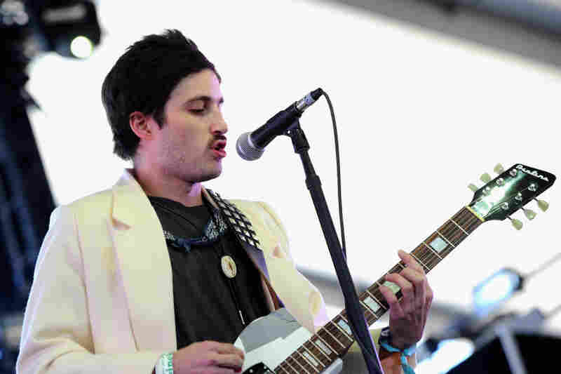 """""""Honestly, we would like to play ... while we're in L.A. ... but they told us not to,"""" Black Lips guitarist Cole Alexander told NPR. """"So we're like, 'Whatever, we'll just record.' """" The band found a new friend (and potential collaborator) during their week off: the pop star Ke$ha."""