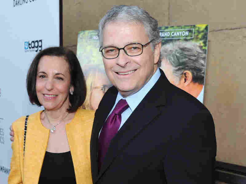 Meg Kasdan and Lawrence Kasdan attend the Los Angeles premiere of Darling Companion at the Egyptian Theatre on April 17.