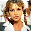 "A screencap from the Britney Spears video, ""...Baby One More Time."""
