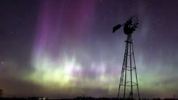 The Northern Lights in Minnesota. (YouTube)