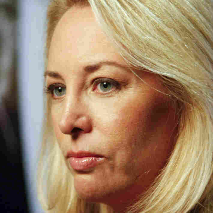 Valerie Plame Wilson attends the 2010 AFI DC Labor FilmFest screening of the movie Fair Game at the AFI Silver Theatre and Cultural Center Silver Spring, Md.