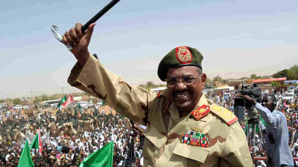 "Sudanese President Omar al-Bashir visits the southern town of El-Obeid on April 19 amid rising tensions with South Sudan. The countries have been skirmishing, and there are fears of a full-scale war. Bashir says South Sudan's leaders only understand ""the language of the gun."""