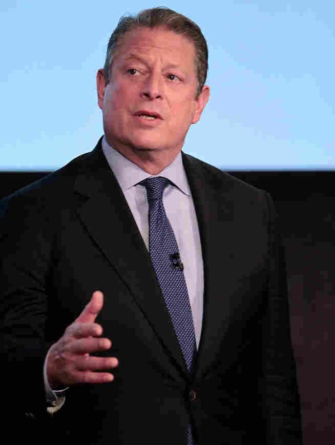 Former Vice President Al Gore.
