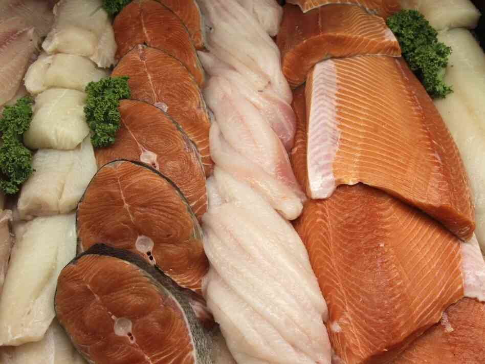 Fish on display at a Whole Foods Market in Hillsboro, Ore., in 2010.