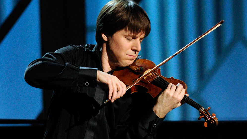 Classical 'Rock Star' Joshua Bell Takes On Conducting