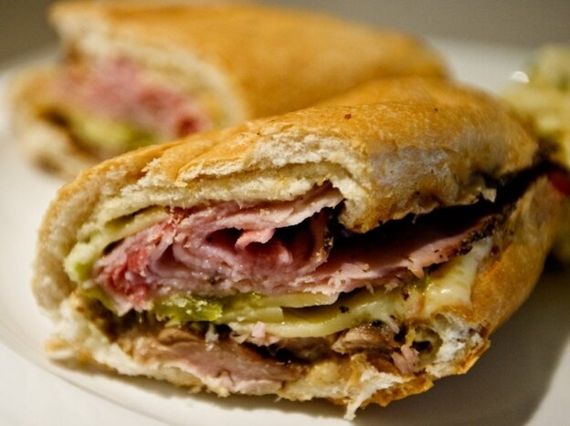 The winning Cuban from Tampa, in all its cheesy, salty glory.