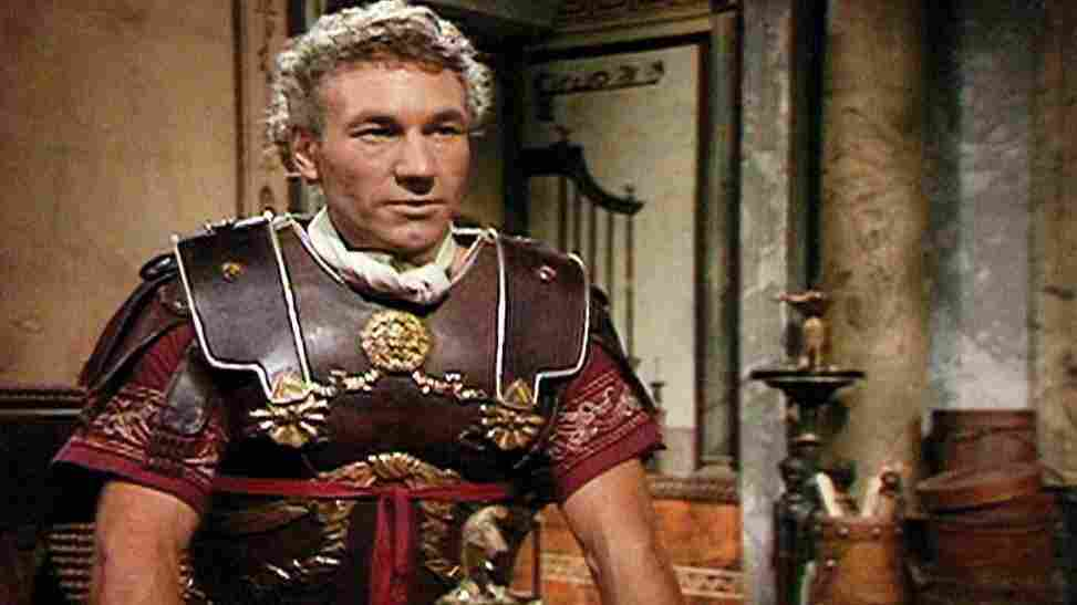 Patrick Stewart co-starred in the BBC series that spanned the history of the Roman empire from Augustus through Claudius.