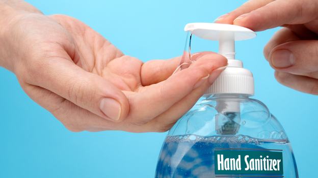 Keep the sanitizer on your hands and out of your mouth. (iStockphoto.com)