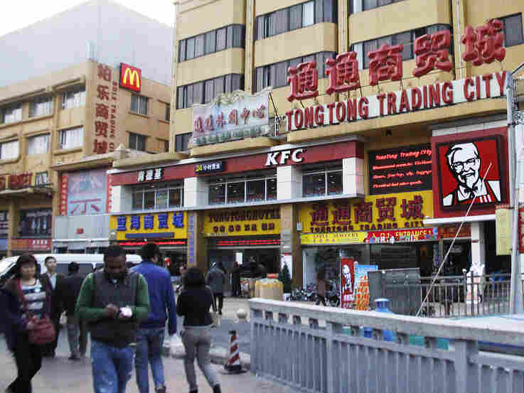The Little Africa neighborhood in the southern Chinese city of Guangzhou has thousands of African immigrants and has grown rapidly in recent years.