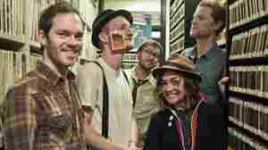 The Lumineers explore the KEXP studio.