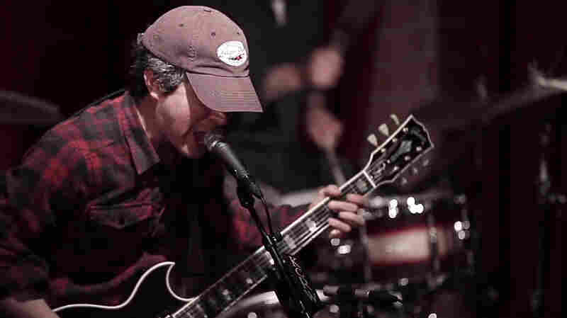 M. Ward performs at Apogee Studios for KCRW.