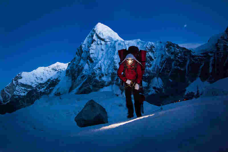 Sherpas may pass through the Khumbu 30 or 40 times this season to carry up food and tents, April 20.