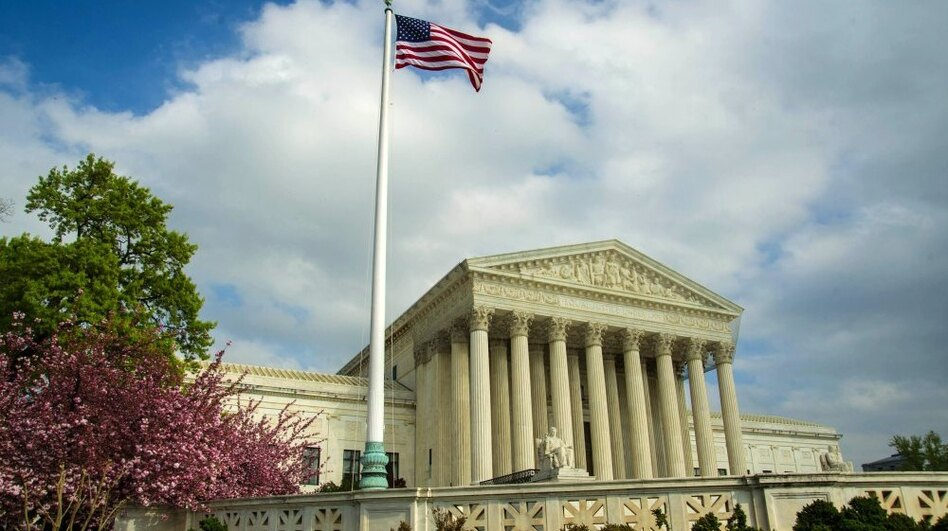 The U.S. Supreme Court building. (AFP/Getty Images)