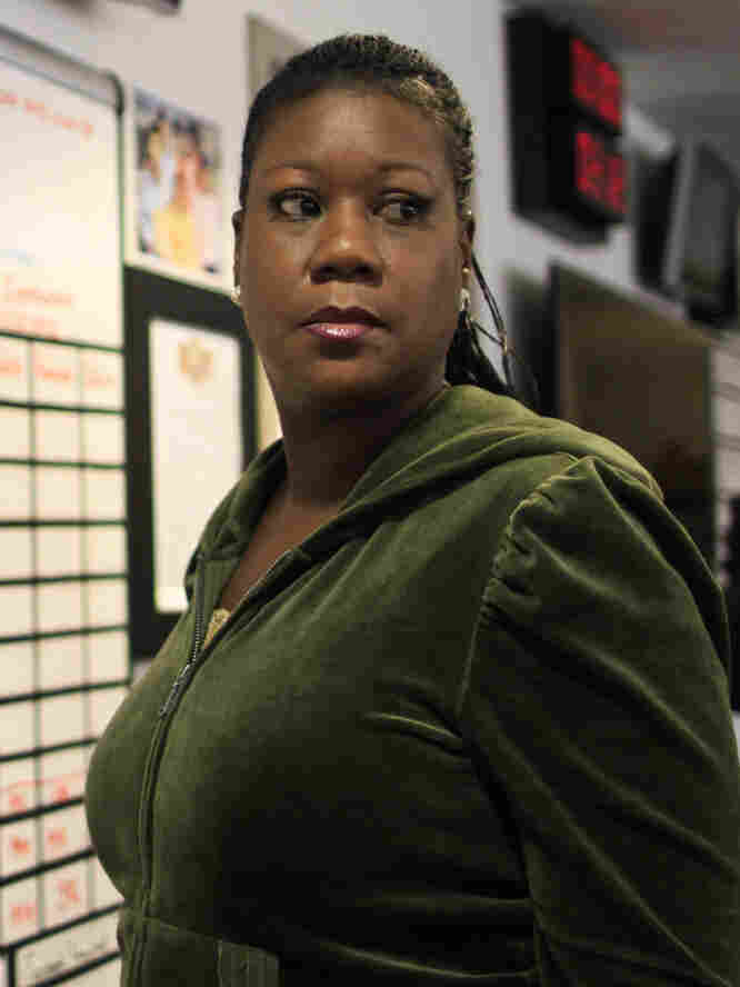 Sybrina Fulton, the mother of Trayvon Martin, appears for an interview with NPR's Michel Martin at Tell Me More.