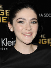 Actress Isabelle Fuhrman, one of the stars of The Hunger Games, kicks it old school when it comes to communication: