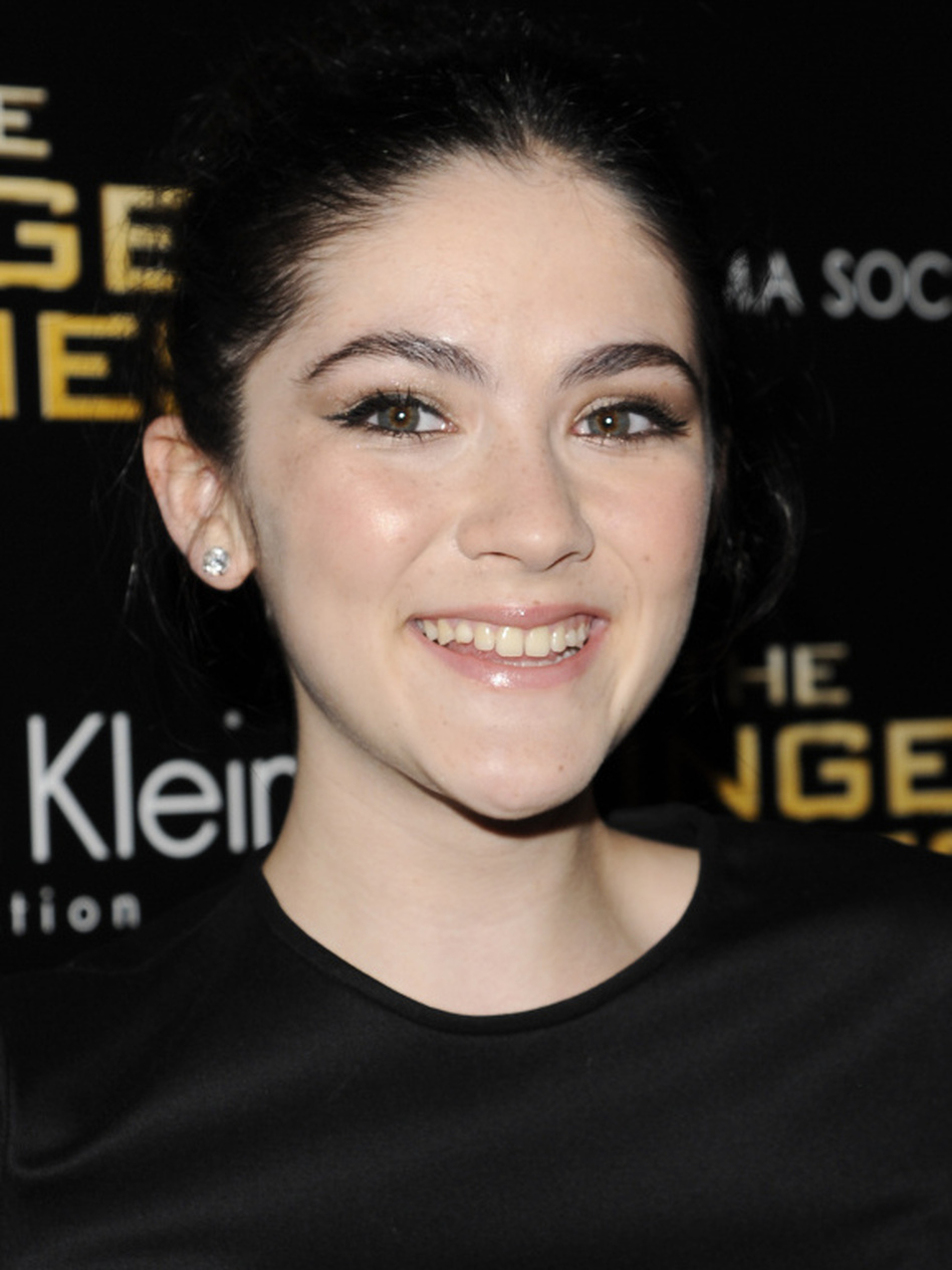 "Actress Isabelle Fuhrman, one of the stars of The Hunger Games, kicks it old school when it comes to communication: ""I don't like to text; I use it to make plans with people, but I prefer to call. You can hear the intonation in their voice and you can really connect to them."" (AP)"