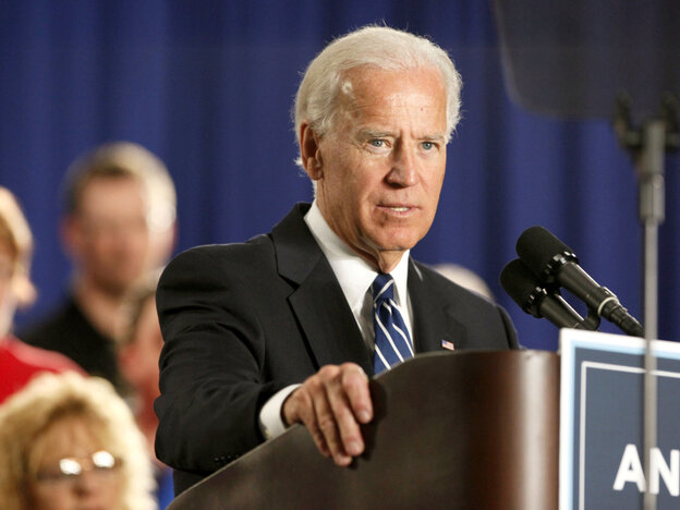 Vice President Joe Biden, March 2012.