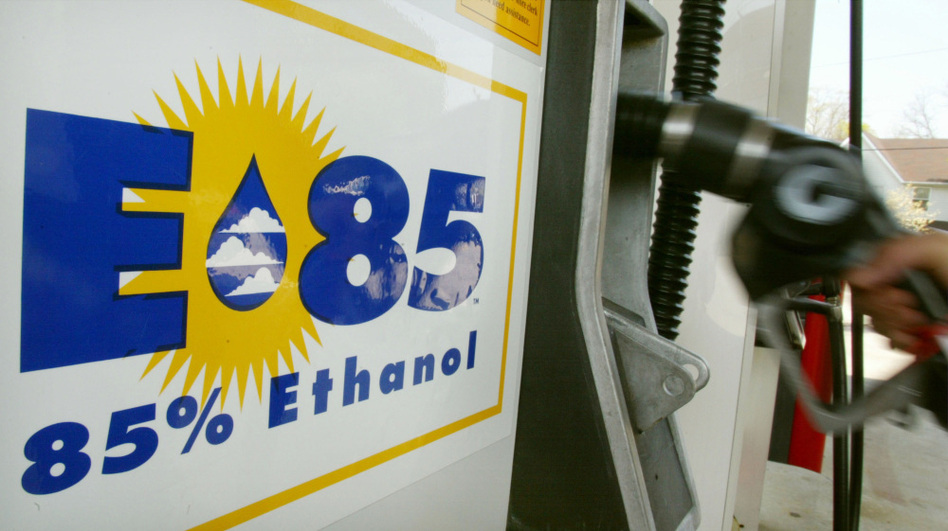 A 45-cent-per-gallon government subsidy for ethanol producers ended earlier this year, but there's still a mandate that forces refineries to blend ethanol with gasoline. Before the mandate, refineries used about half as much ethanol as they do today.