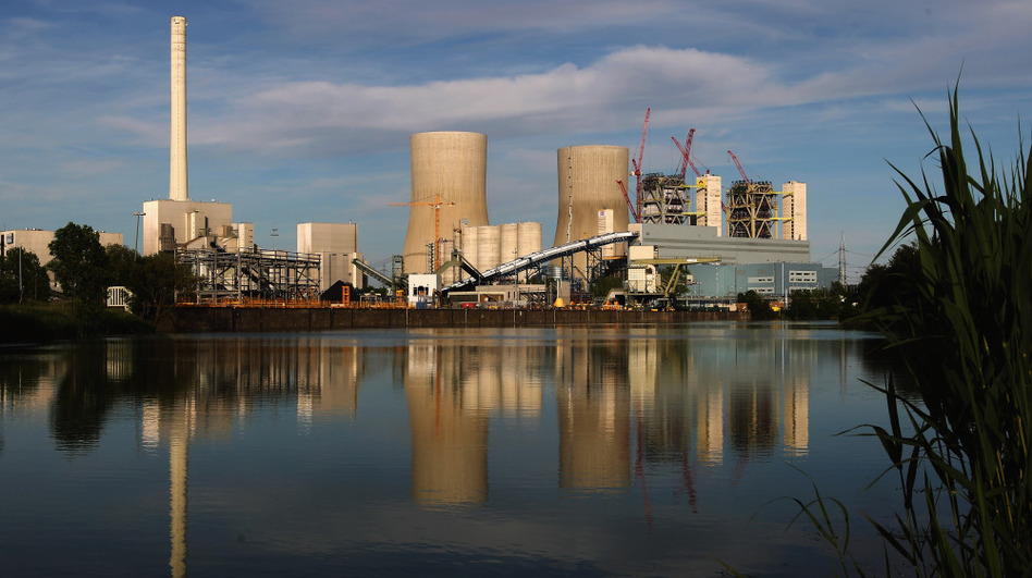 Germany plans to take all of its nuclear power plants offline by 2022, which means coal-fired power plants like the Kraftwerk Westfalen, in Hamm, Germany, will be a key component of the country's energy infrastructure. (Lars Baron/Getty Images)